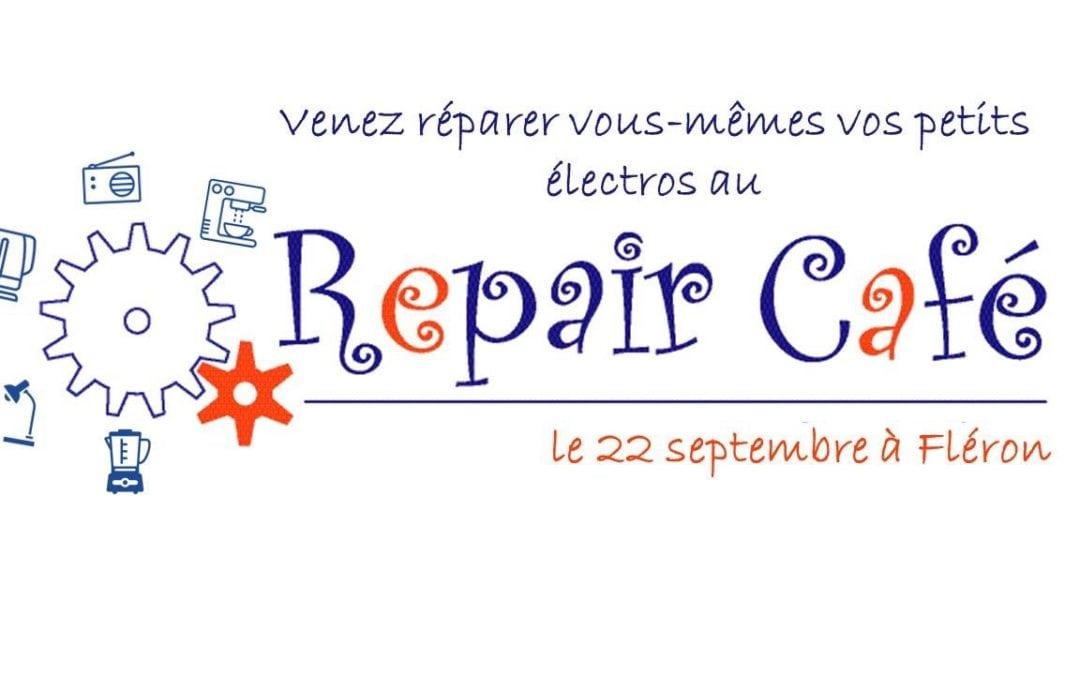 Repair Café Avenue des Martyrs 183 – Fléron samedi 22 septembre 14h. – 18h. Inscriptions suivre le lien