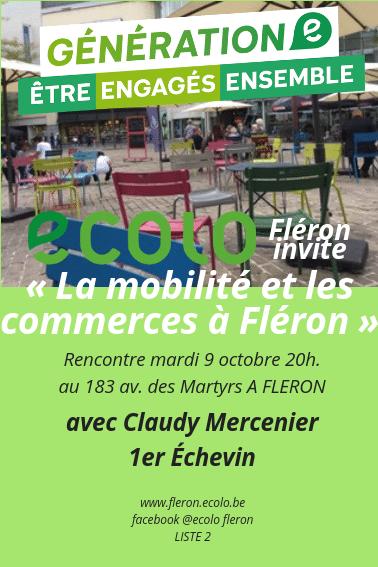 La mobilité et les commerces à Fléron
